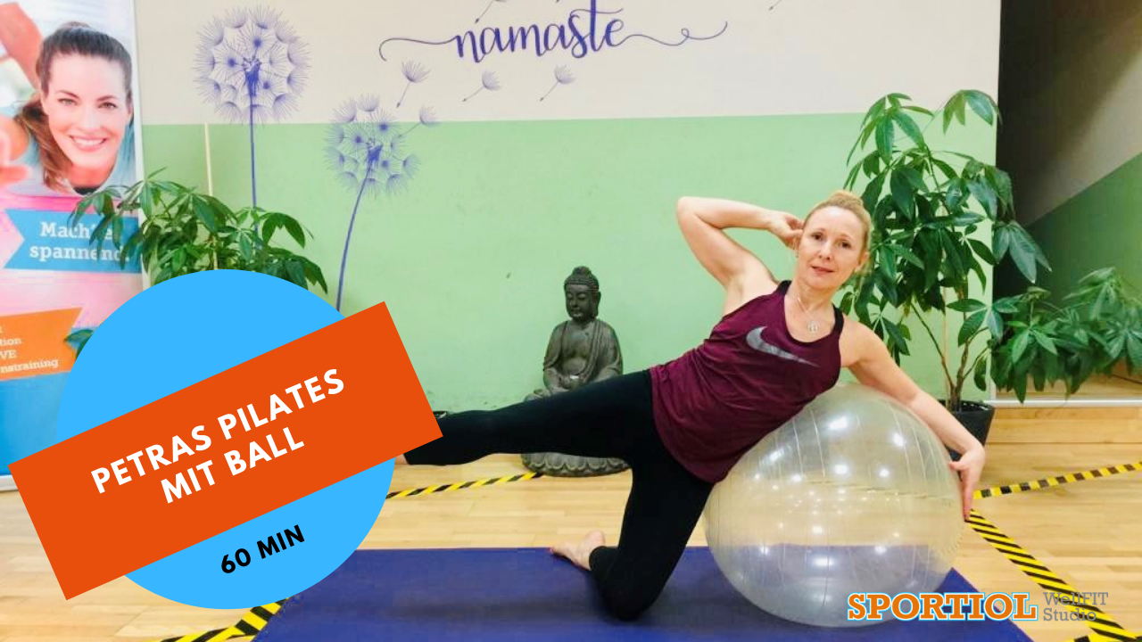 Pilates mit Ball
